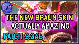 New Braum Skin OP? Sugar Rush Braum - League of Legends