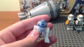 Обзор на LEGO Star Wars 9490 Побег дроидов .