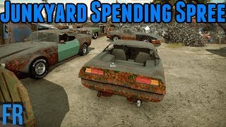 Car Mechanic Simulator 2018 - Junkyard Spending Spree