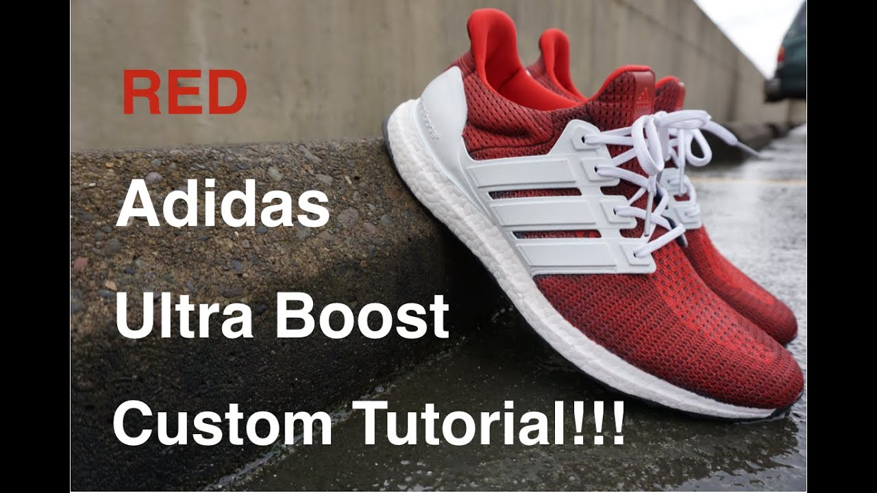 Adidas Ultra Boost Red And White