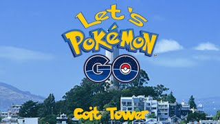 Pokemon Go [Beta] - San Francisco: Coit Tower