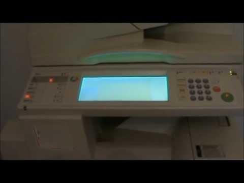 RICOH AFICIO MP 2510 FOTOCOPIADORA FUNCIONES OPCIONALES DE IMPRESION Y ...