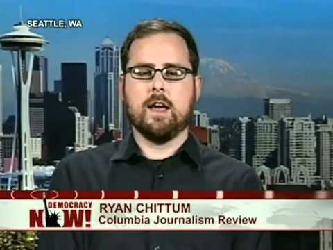 Ryan Chittum Reports on the Rupert Murdoch Media Scandal in Britain 1 of 2
