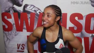 Don't tell UFC Fight Fight Night 108 winner Danielle Taylor she's too small