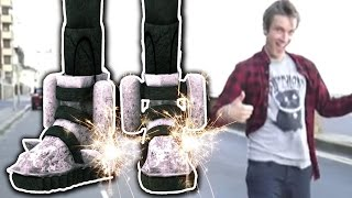 I GOT ROCKET BOOTS! (5 Weird Stuff Online - Part 16)