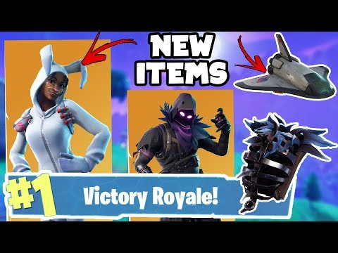 New 30 Items Coming To Fortnite Battle Royale! (Emotes, Skins, Back Blings & Gliders)