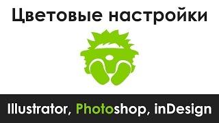 Параметри кольорів Adobe Illustrator, Photoshop, inDesign