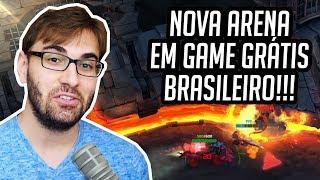 ARENA NOVA EM GAME GRÁTIS BRASILEIRO 4K 60fps Gameplay Heavy Metal Machines