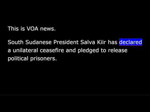 VOA news for Tuesday, May 23rd, 2017