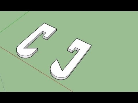 Sketchup tutorial 10 mirror command youtube for Mirror in sketchup
