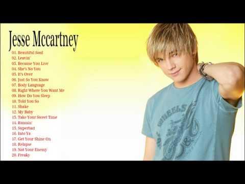 The Very Best of  Jesse Mccartney 2017 (Full Album)