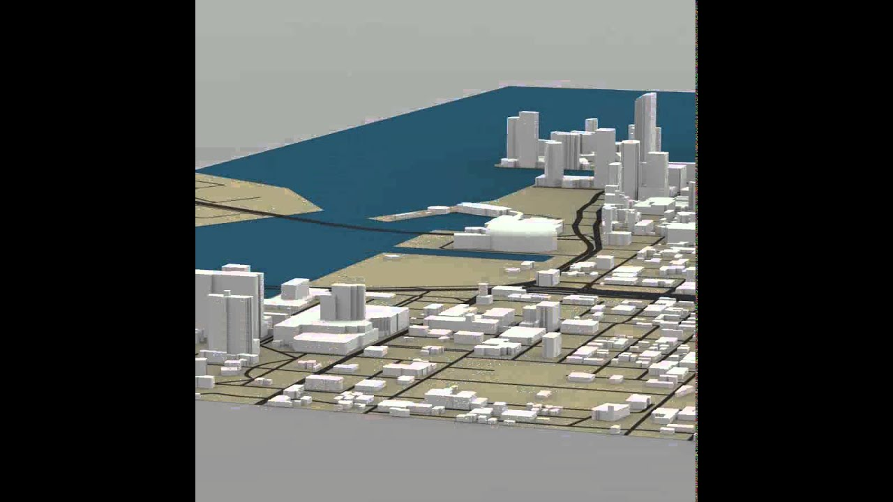 Miami Cityscape 3D model from CGTrader com