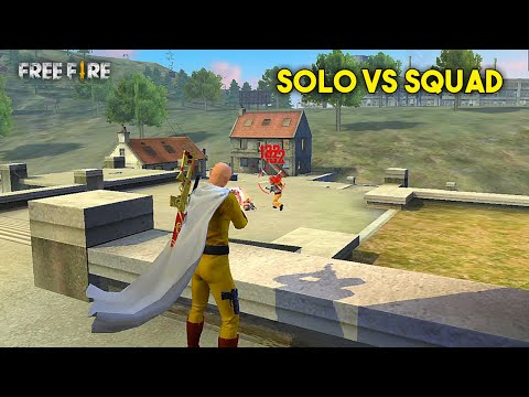 Best Clocktower Solo vs Squad Kill Moment Must Watch Gameplay – Garena Free Fire