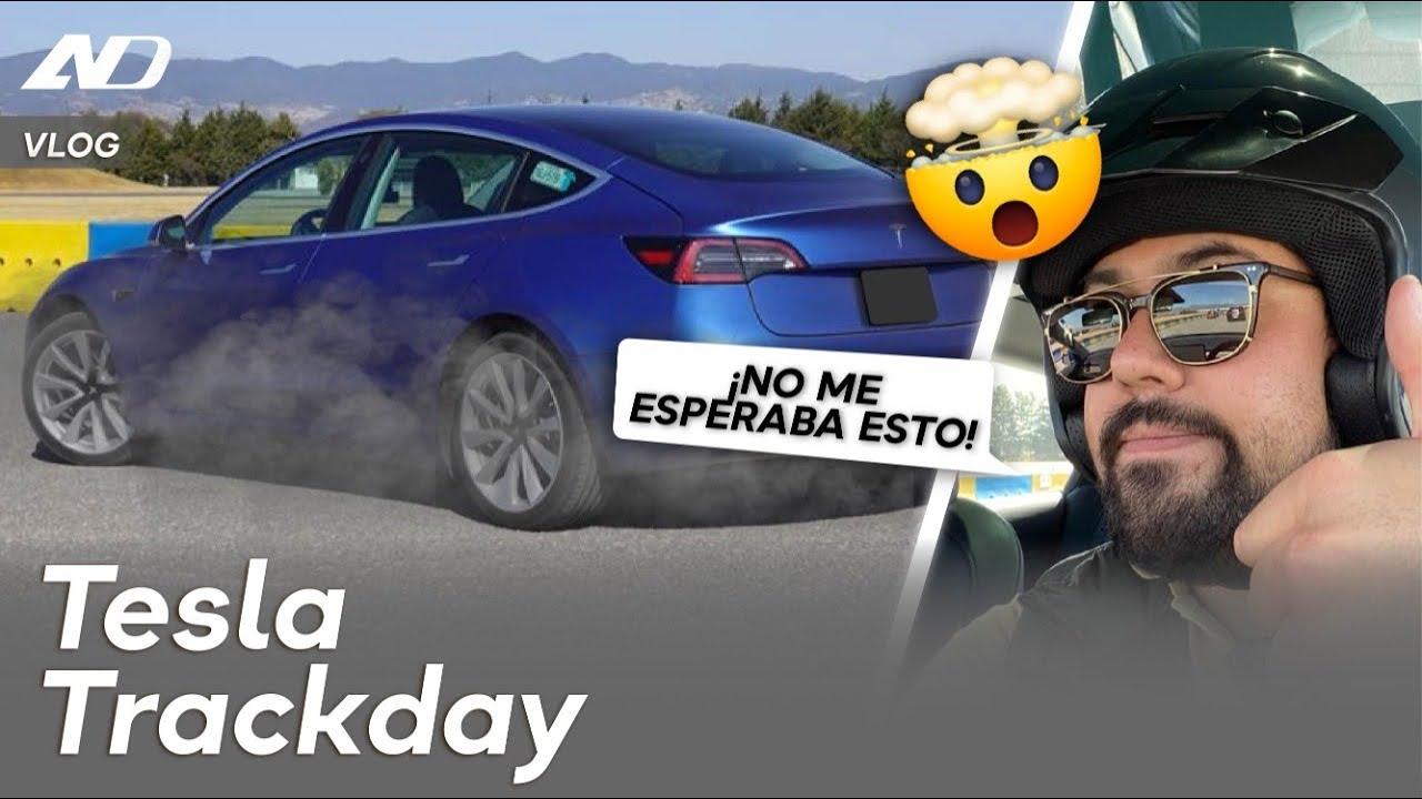 Metimos el Tesla a pista ¿Mala idea?   Vlog