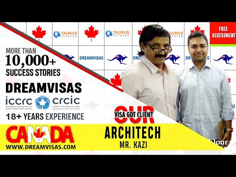 Zaman, Project Manager, Our latest Canadian PR visa got client with Manoj Palwe