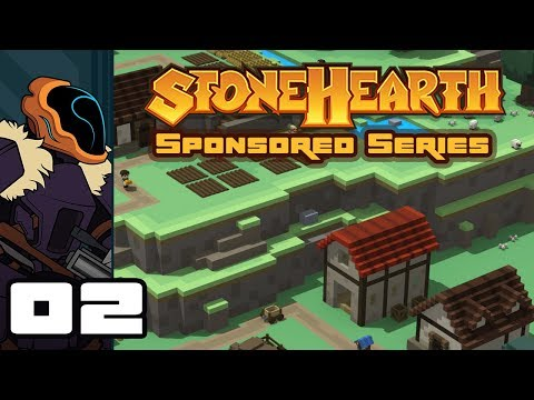 Let's Play Stonehearth [Alpha 22.5.2] - PC Gameplay Part 2 - Learning The Ropes