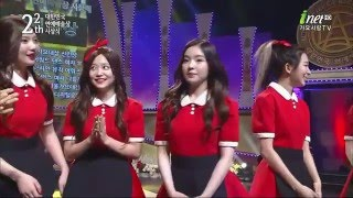 [HD 1080p] 160312 Red Velvet - Award + Dumb Dumb @ inetTV The 22th Acting Prize of Republic Korea