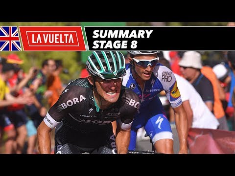 Summary - Stage 8 - La Vuelta 2017