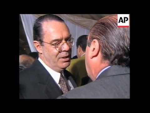 ARGENTINA: PRESIDENT CARLOS MENEM DEFENDS HIS ECONOMIC RECORD