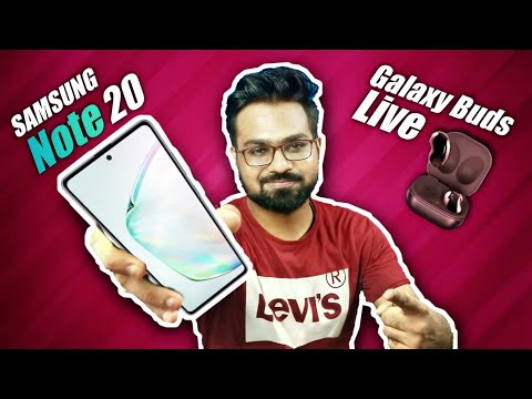 Samsung Galaxy Note 20 and Galaxy Buds Live Official Looks!!!