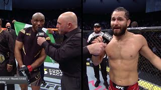 UFC 261: Усман Vs Масвидаль - Слова после боя
