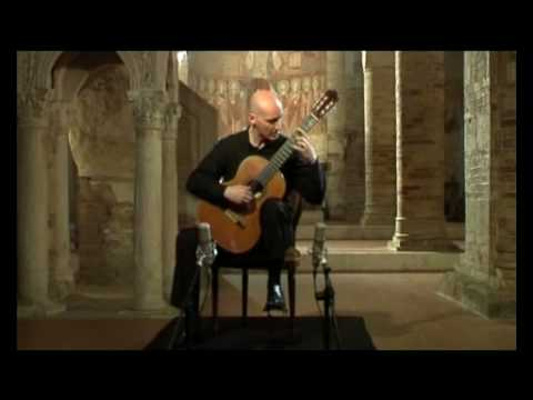 Sandro Torlontano (classical guitar) plays Capricho Arabe by Francisco Tarrega