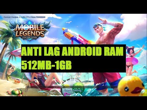 Mobile Legends Anti Lag Android Ram 512mb 1gb Youtube