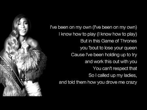 Sevyn Streeter - Shoulda Been There ft. B.o.B (LYRICS)