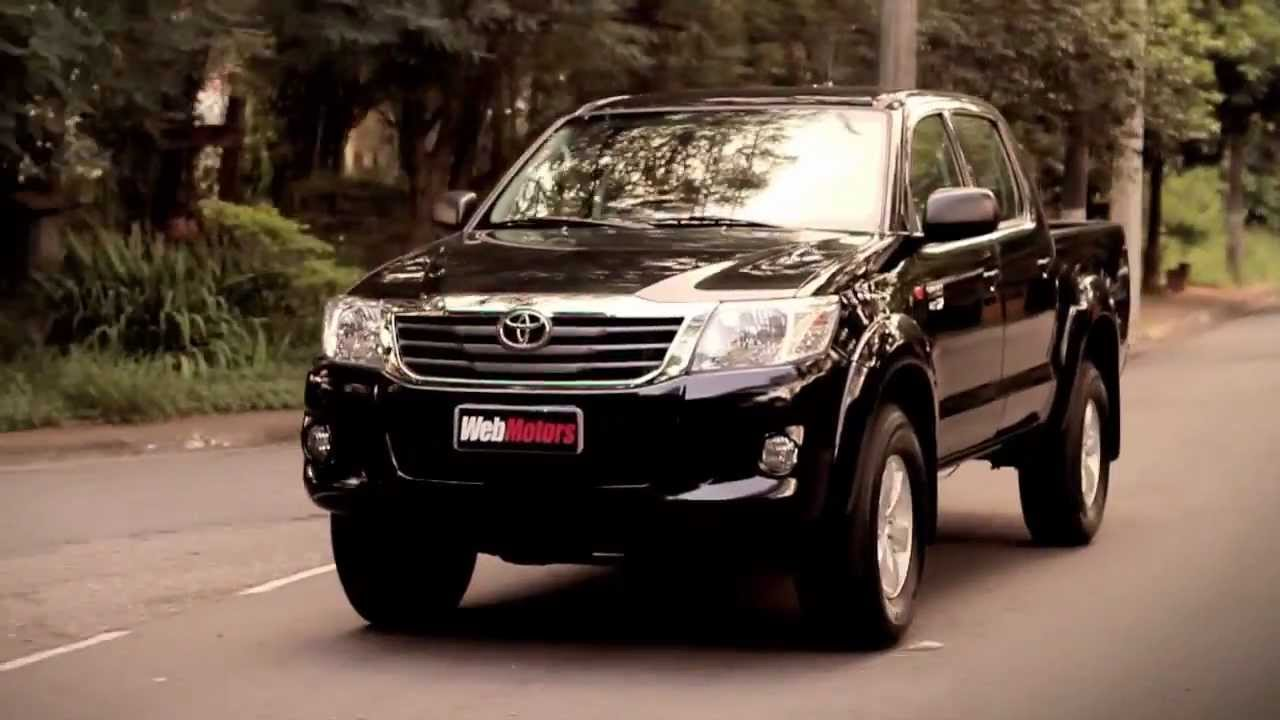 Teste Webmotors Toyota Hilux Flex Youtube