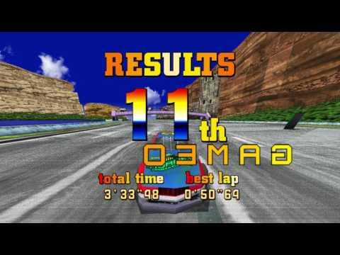 Sega Racing Classic - Full Gameplay