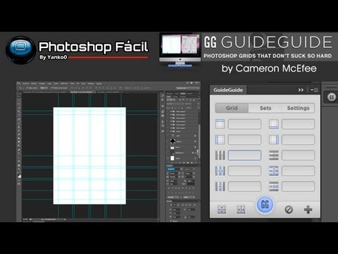 Lineas Guias Plugin GuideGuide Photoshop
