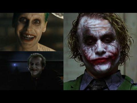 THE JOKER voice - Jared Leto VS Heath Ledger VS Jack Nicholson