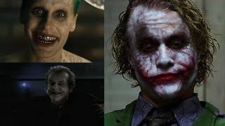THE JOKER voice - Jared Leto VS Heath Ledger VS Jack Nicholson