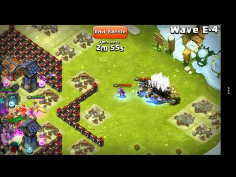 Castle Clash Wave E Diamond Base