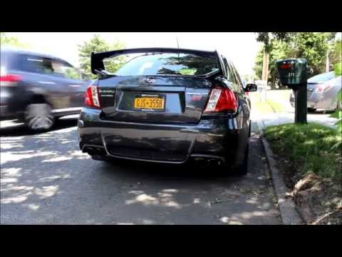 WRX STi Corsa Performance Exhaust - Revs & Fly By