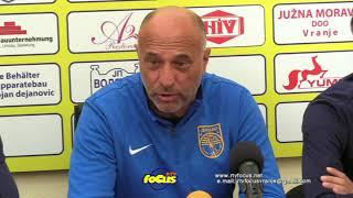 RTV focus VRanje FK Dinamo - najava utakmice sa Proleterom i stanje u klubu 22092017