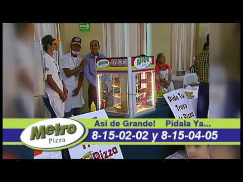 Metro Pizza®, El Sabor de Los Mochis, Edición 2016; Los Mochis, Sinaloa.