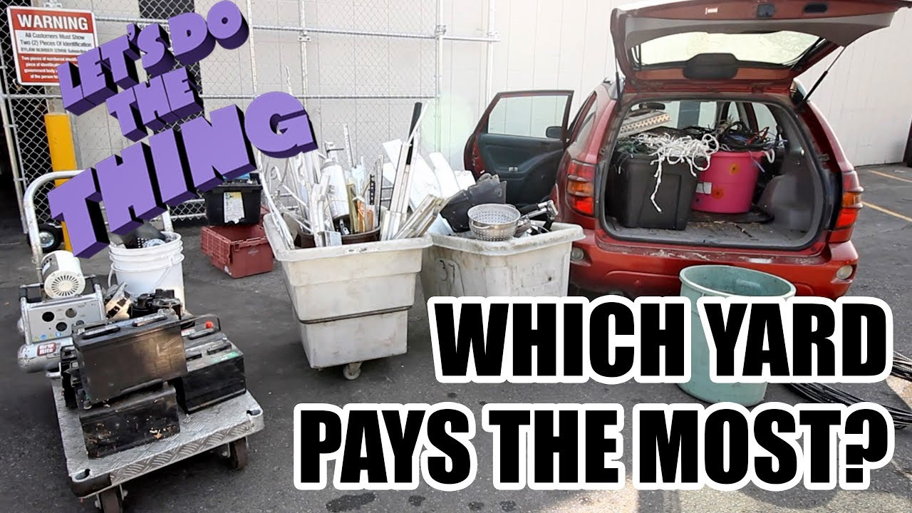 Best Paying Scrap Yard Calgary + CONTEST WINNERS - Name My Car ...