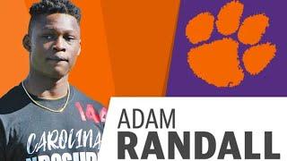 Adam Randall - Clemson 2022 Commit (4* WR)