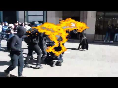 Bürgeraufstand in Frankreich Mai 2016