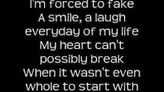 Kelly Clarkson Because of you with lyrics
