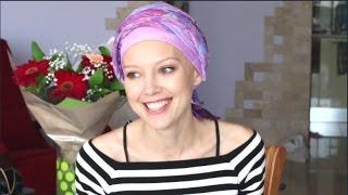 Химиотерапия- мои платки, как завязываю и ношу 💋👠👗