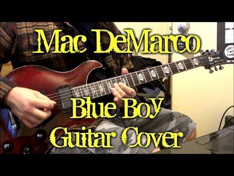 Mac DeMarco - Blue Boy (guitar cover + TAB)