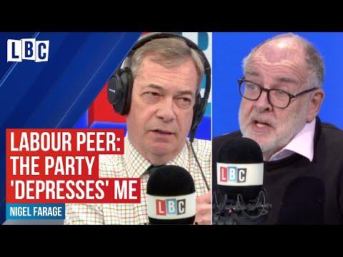 Labour Peer Tells Nigel Farage The Current Party 'depresses' Him