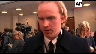Shooting survivor and father of victim comment on first day of Breivik trial