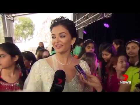 Australian Media on Aishwarya Visit to Melbourne | IFFM 2017