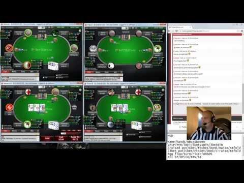 Pot Limit Omaha Coaching with Kyyberi 18.6. 2014 (PLO50 poker strategy)