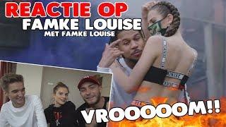 WAT VINDT FAMKE ZELF?! - REAGEREN OP VROOM MET FAMKE LOUISE!