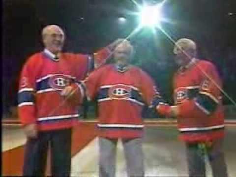 Dernière partie au Forum de Montréal ovation  Maurice Rocket Richard Le grand Journal TQS Quebec