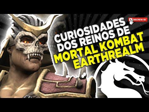 CURIOSIDADES DOS REINOS DE MORTAL KOMBAT #1 EARTHREALM